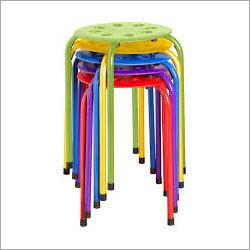 Colored Plastic Stool