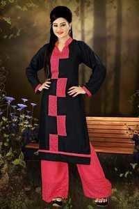Jasmine Plazzo Style Straight Salwar Kameez