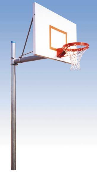 Basket ball poles