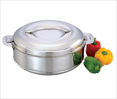 SS CASSEROLE  with S.S. Click Lock System