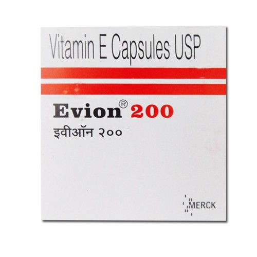 EVION 200MG Vitamin E Capsules
