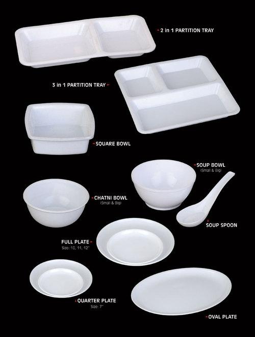 Poly Carbonate Crockeries (Food Grade)