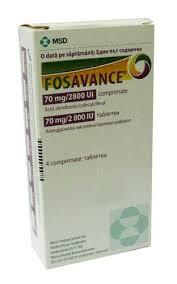 Fosavance 70mg Vitamin Tablets