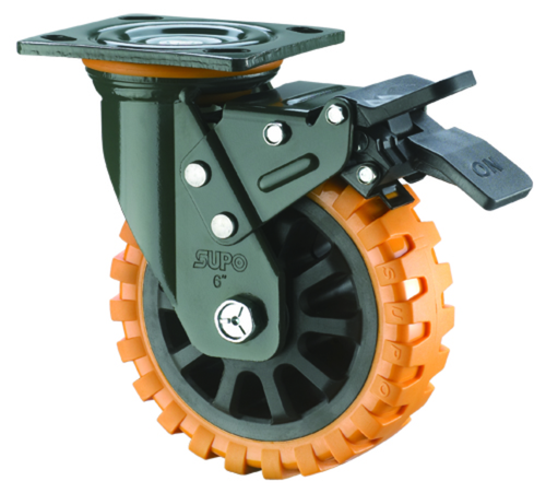 Polyurethane Caster Wheels Heavy Duty