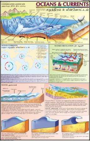 Ocean & Currents Chart