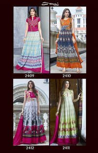 YOUR CHOICE (BANG BANG NX)Anarkali Designer Suits