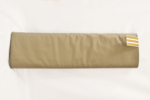 100% Cotton Tan Brown Suiting Fabric