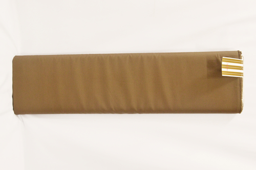 100% Cotton Brown Suiting Fabric