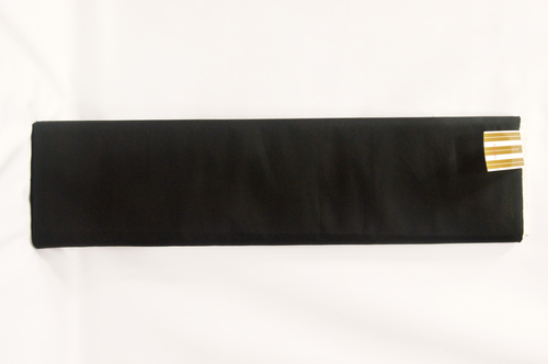 100% Cotton Black Suiting Fabric