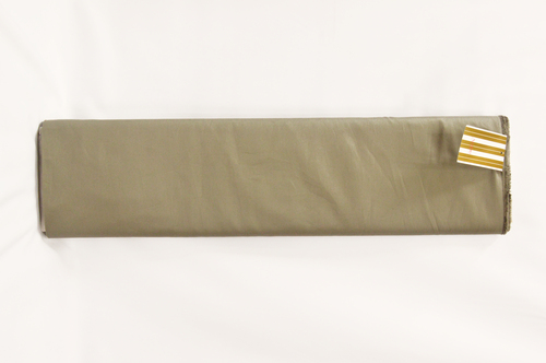 100% Cotton Khaki Brown Suiting Fabric