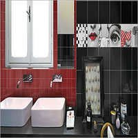 Red Glossy Wall Tiles