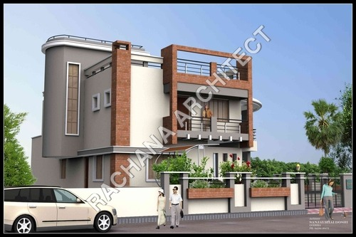 MODERN BRICK HOUSE DESIGN