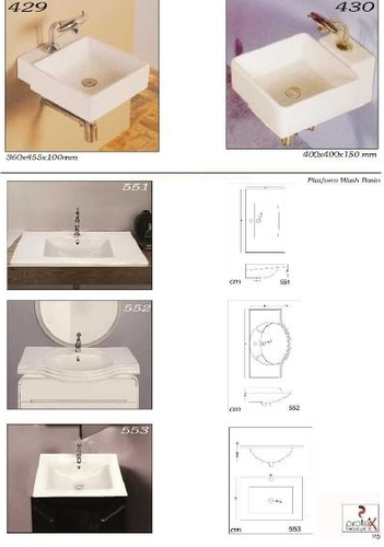 Ceramic Small Wash Basin | India