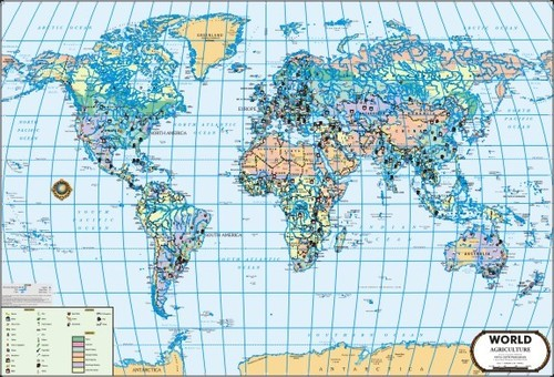 World Agriculture Map