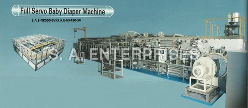 Full Servo Baby Diaper Machine