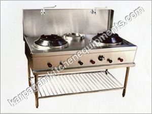 Chinese Burner Gas Range