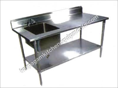 Work Table Washing Sink
