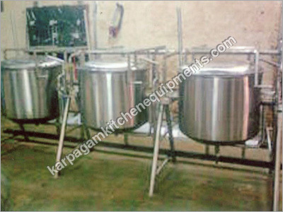 Double Jacketed Milk Vessels