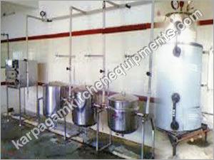 Hotel Jacketed Milk Vessels