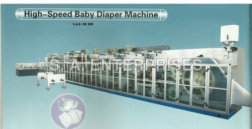 High-Speed Baby Diaper Machine