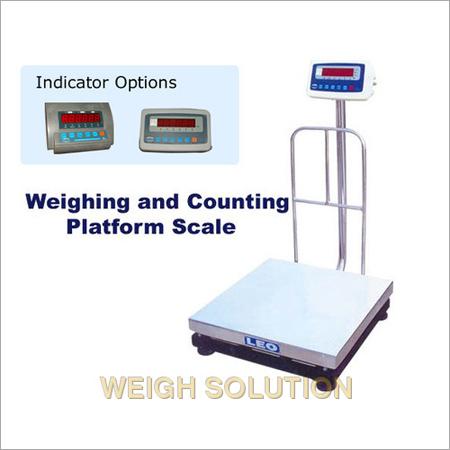 Weighing & counting platform