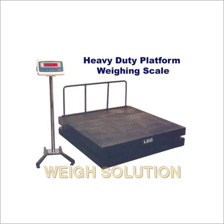 Heavy Duty Platform Weigh