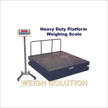 Heavy duty patform weigh