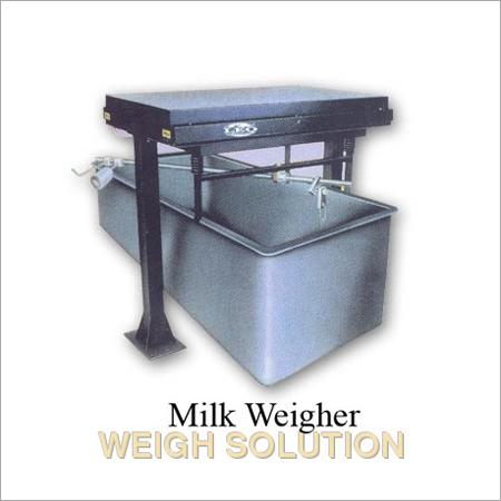 Milk weigher