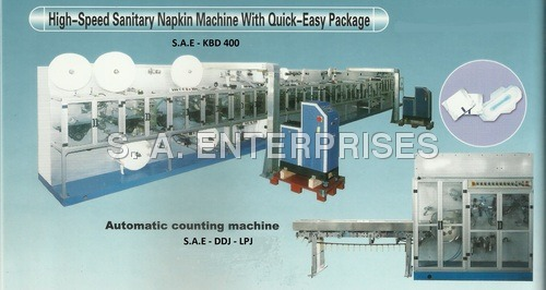 High-Speed Sanitary Napkin Machine With Quick-Easy Package