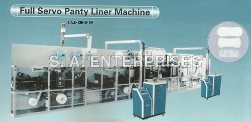 Full Servo Panty Liner Machine
