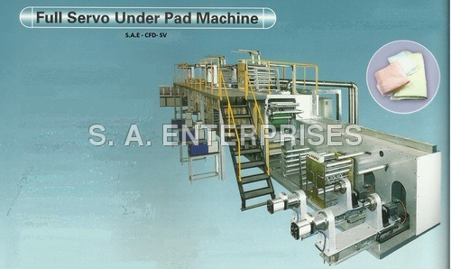 Full Servo Under Pad Machine