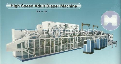 Sanitary Napkin Making Automatic Machine