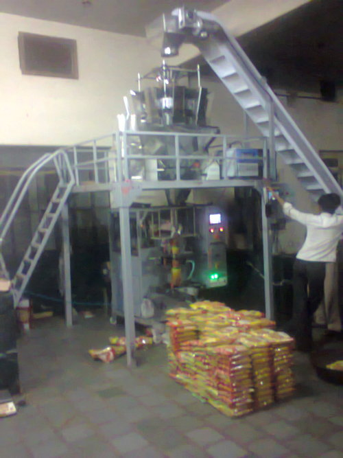 packing machine for food products