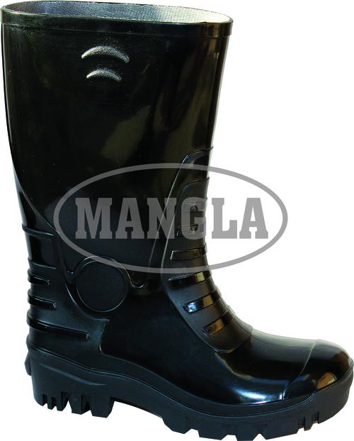 Black Waterproof Fashion Gumboot
