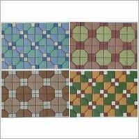 Colored Mosaic Tiles