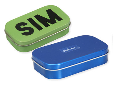 Rectangular Tin Box