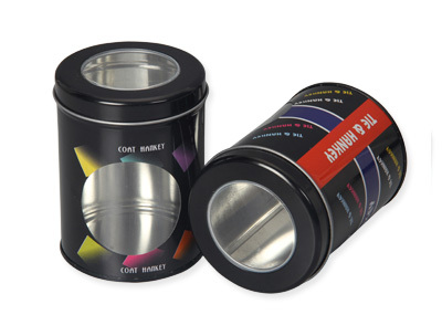 Special Round Shape Tin Box