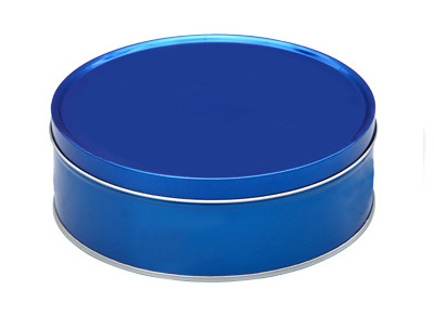 Round Shape Tin Box