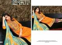 Orange Karachi Designer Dresses