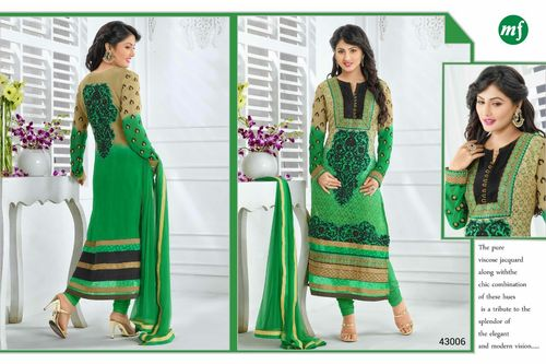 Georgette Embriodered Suit