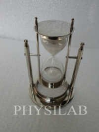 Hanging Sand Timer (Shiny Brass Finish)