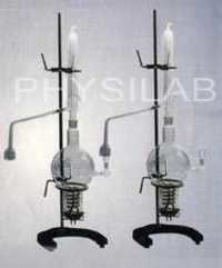 All Glass Single and Double Distillation