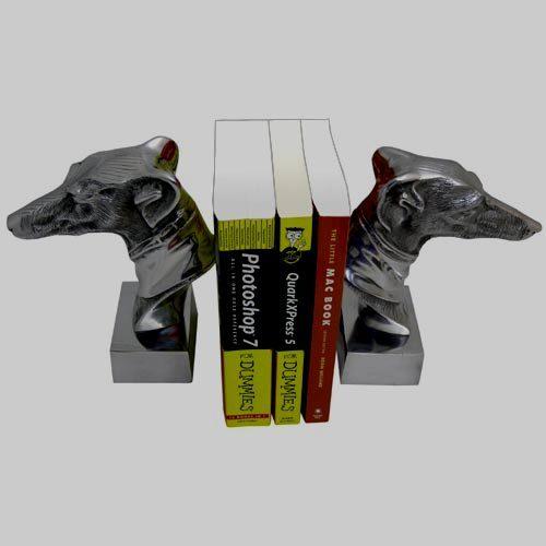 Aluminium Black Book Stand