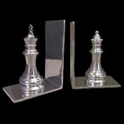 Aluminium Chess Bookends