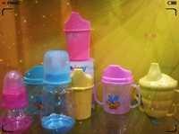 Decorated Baby Feeding Bottles
