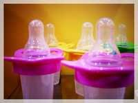 BPA free PP Baby Feeding Bottles