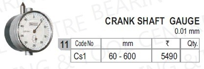 Crank Shaft Gauge