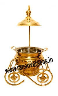 TOP QUALITY HANDMADE BRASS CATERING SERVING DISH