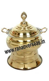BRASS METAL CATERERS CHAFING DISH