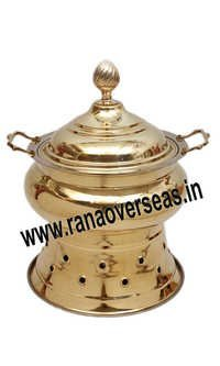 FOOD SERVING BRASS CHAFING DISH